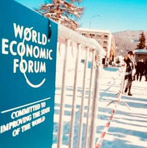 Área de Imprensa no WEF