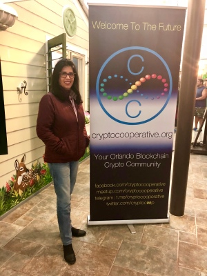 Fabrícia Fedoci no Blockchain & Florida Government