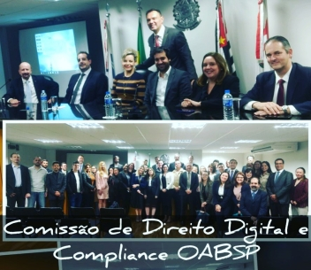 1ª Palestra sobre Blockchain para Comissão de Direito Digital da OAB/SP
