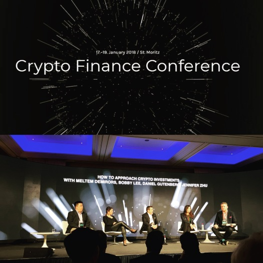 1º Annual Crypto Finance Conference