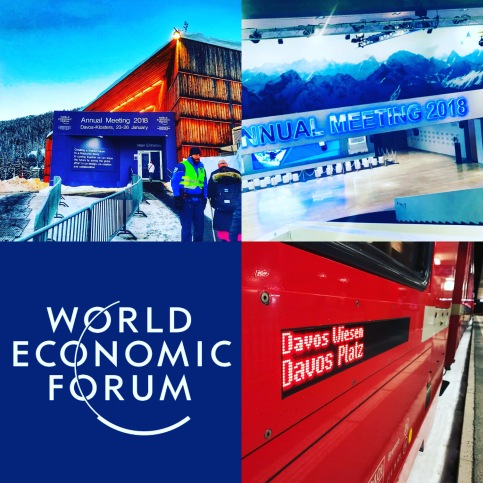 no Fórum Econômico Mundial