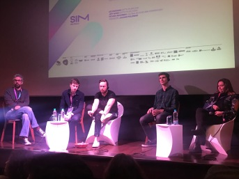 Painel com Lee Parsons (Ditto Music/UK) e Jeff Ward (Ditto Music/USA)